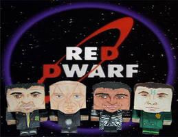 Red Dwarf Cubee Crew by Ditch-scrawls