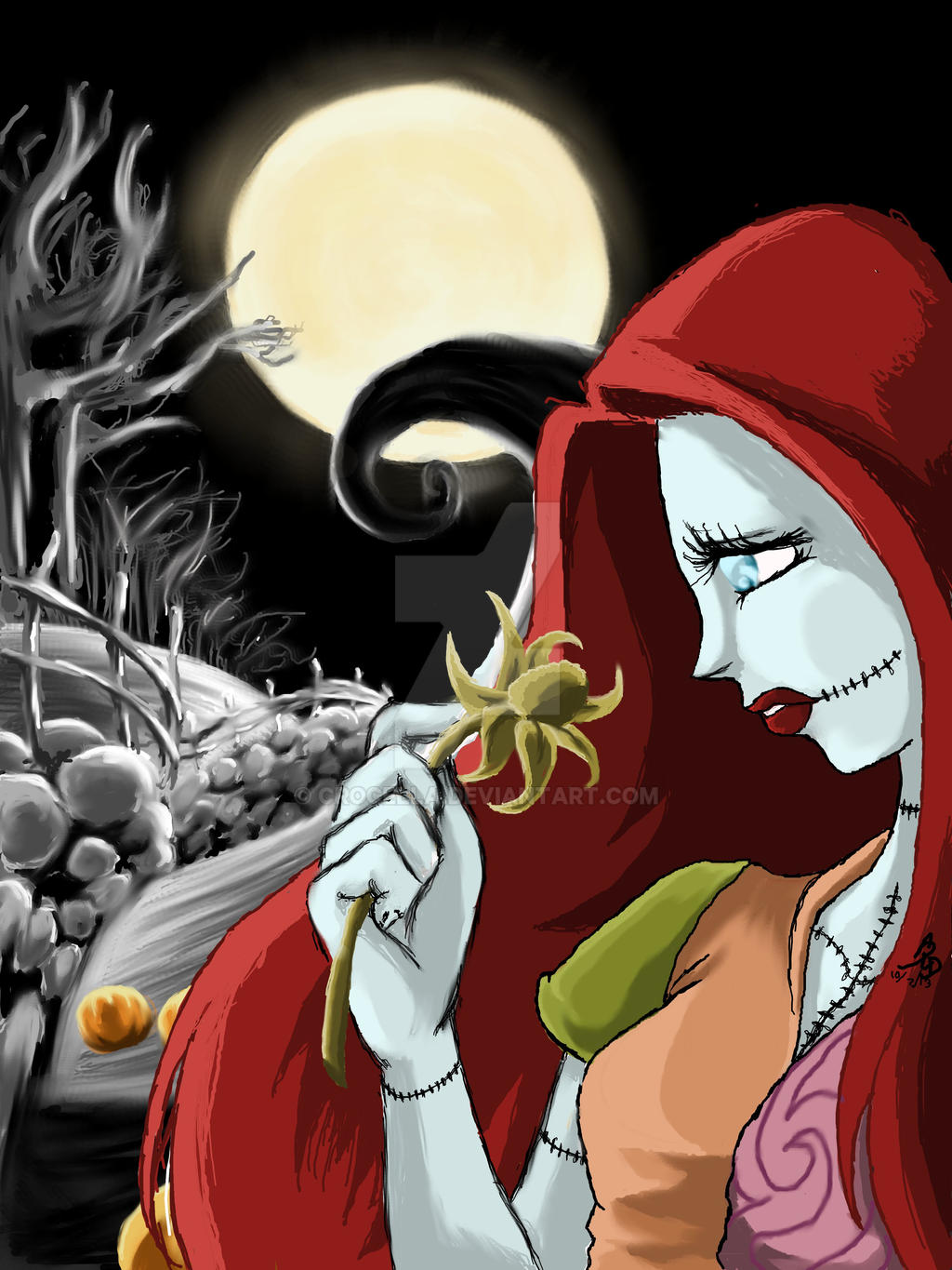 The Nightmare Before Christmas Sally By Crocella On Deviantart