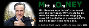 Mitt Romney's wages