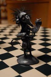 Tim Burton Vincent sculpt by Miki-