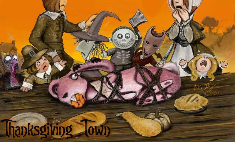 TNBC - Thanksgiving Town