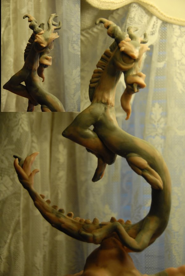 My Little Pony - Discord sculpt WIP by Miki-