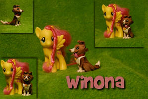MLP- Friendship is Magic - Winona Sculpt by Miki-