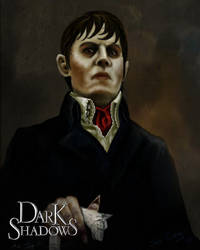 Dark Shadows - Barnabas Collins - 72 version by Miki-