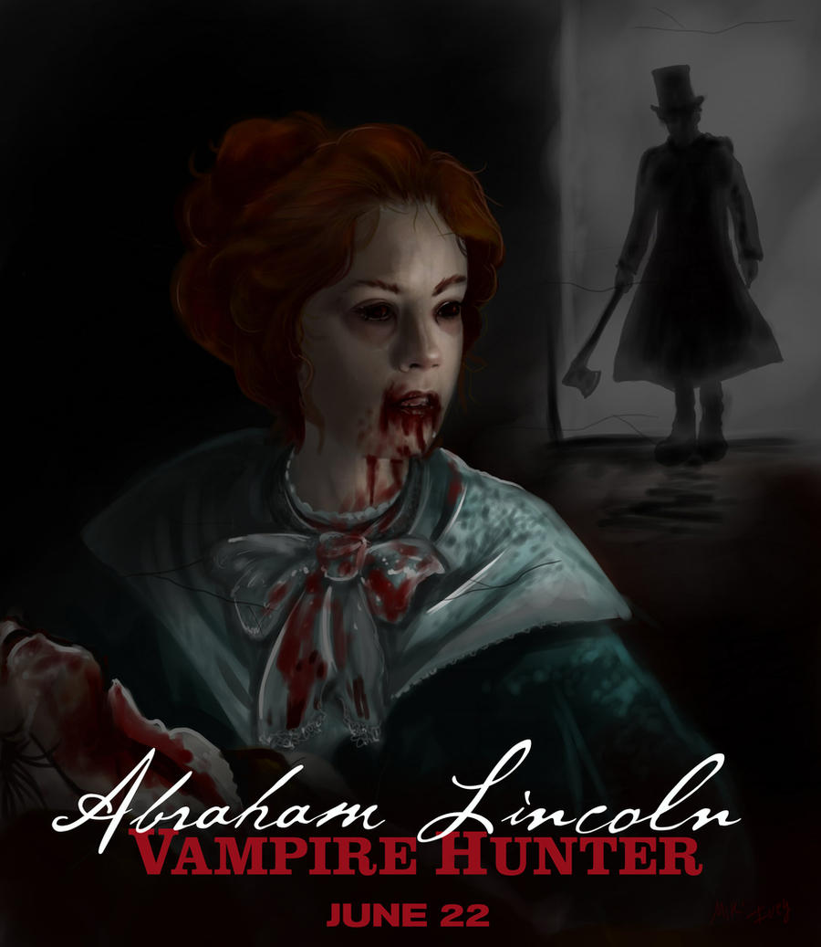 Abraham Lincoln Vampire Hunter Drawing By Miki On Deviantart
