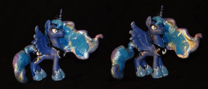 MY LIttle Pony FIM blindbag sized Luna Sculpture