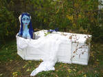 Life Size Corpse Bride Puppet by Miki-