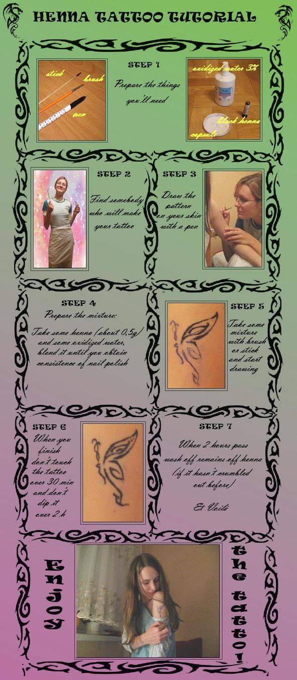 Henna tattoo tutorial by aviii-chan