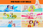 PSD Pack #2 by Bella
