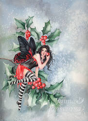 Holly by JannaFairyArt