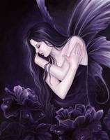 Night Blossom by JannaFairyArt