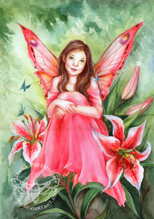 Pictures Of Fairies To Paint