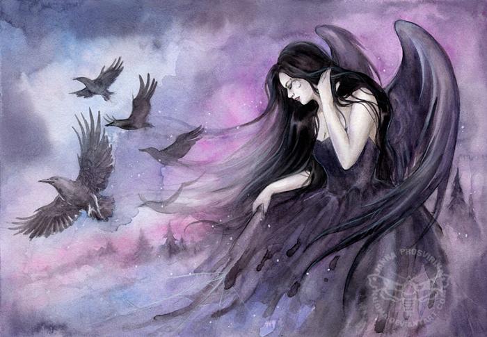 Sorrow by JannaFairyArt