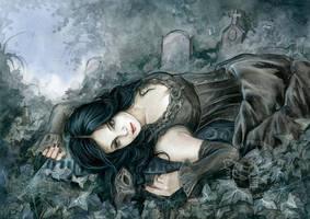 Midnight Masquerade by JannaFairyArt