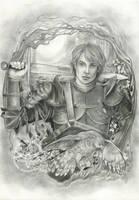 Old Story ( Sketch) by JannaFairyArt