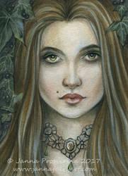 Poison Ivy by Janna Prosvirina by JannaFairyArt