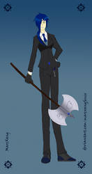 Alexis Curie Tesla-Grim Reaper by Marcxangfenix