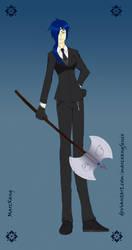 [Alternative] Alexis Curie Tesla-Grim Reaper by Marcxangfenix