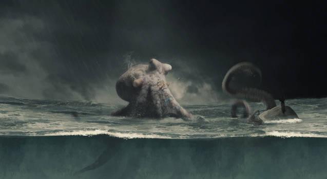 Octopus... by Dark-Indigo