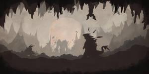 Tyranitar VS Aggron... by Dark-Indigo