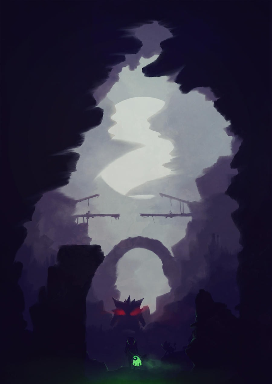 Shadow Pokemon... by Dark-Indigo