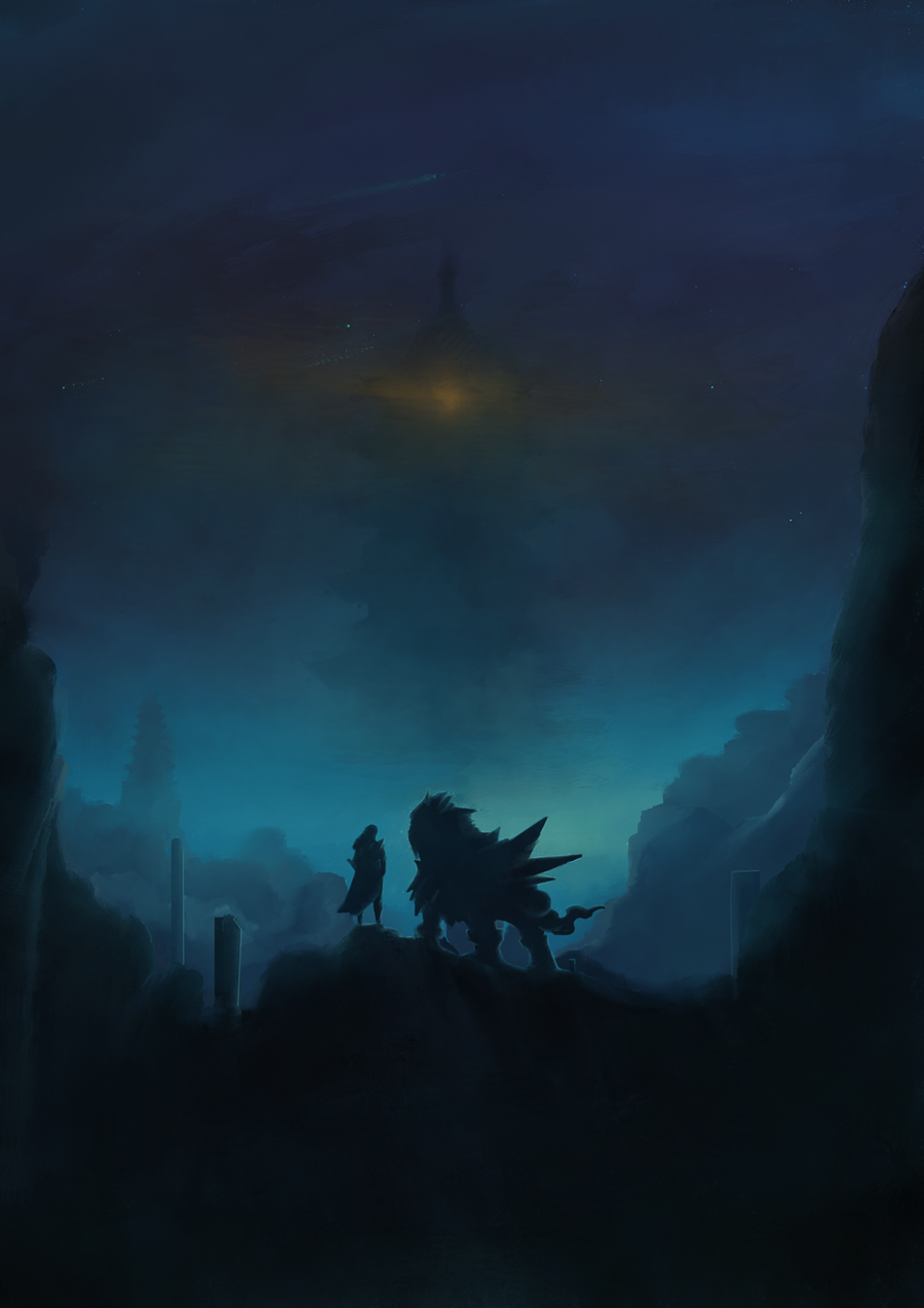 Brass tower... by Dark-Indigo