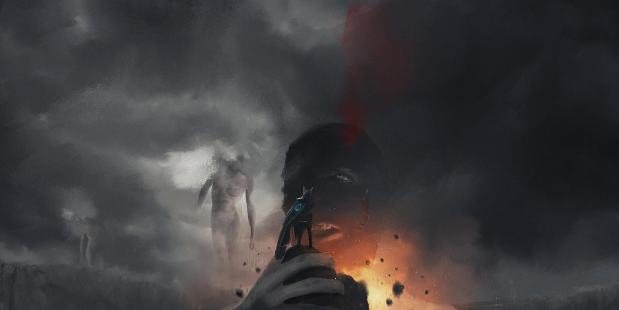 Titans attack... by Dark-Indigo