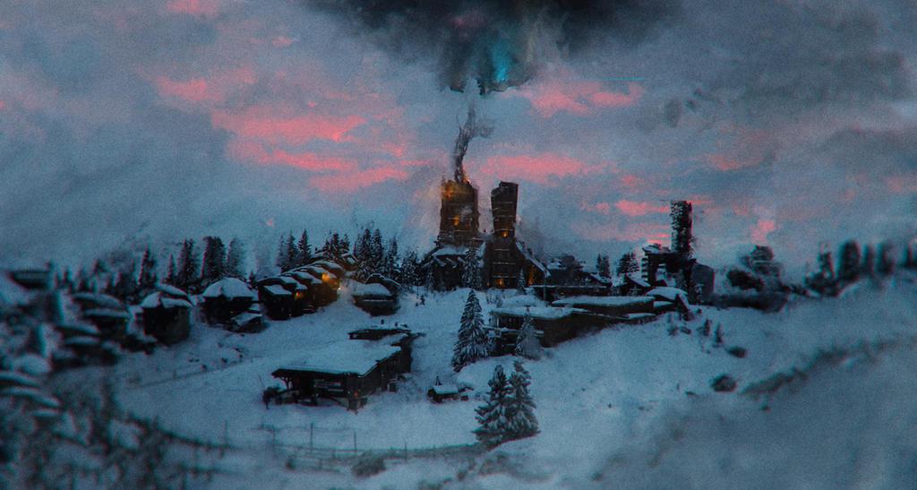 Village... by Dark-Indigo