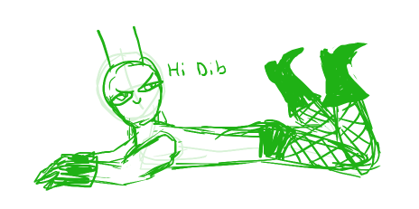 Hey Dib~~~~~~~~~~~~~~~~ by Gh0st-Stories