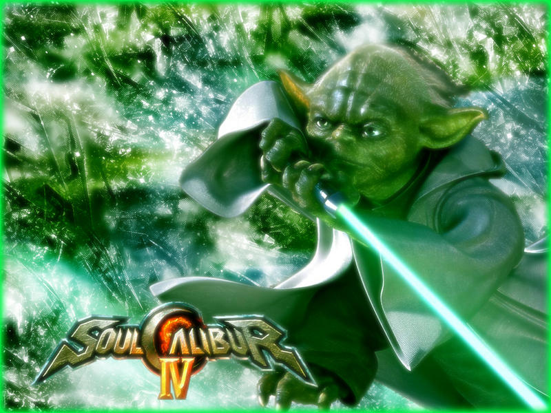 free wallpaper yoda. Yoda Soul Calibur 4 Wallpaper by ~blackmore380 on deviantART