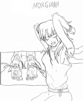 Morgiana's tickle torture
