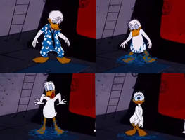 NM: Donald Duck Clothes Shredded by LenardArt