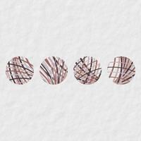 Four little marbles