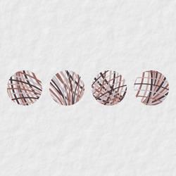 Four little marbles by GeometricArt