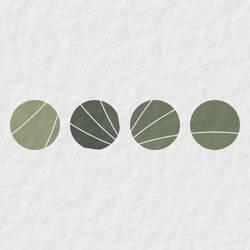 Four little stones by GeometricArt