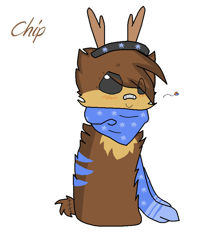 Chip mini ref ScarfBlob by XxxJayMuffinxxX