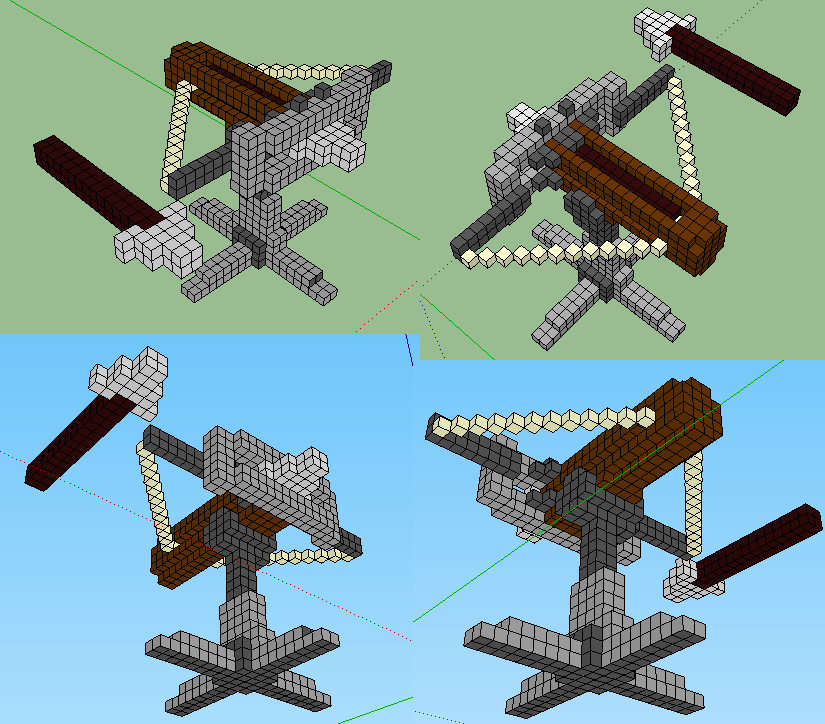 minecraft how to change from parallax view