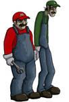 Fat italian plumbers