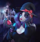 Mischevious witch
