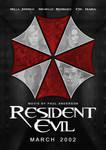 Resident Evil fan-made poster