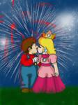 Young Love - Peach x Mario