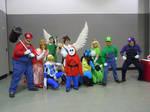 Smash Brothers Photoshoot