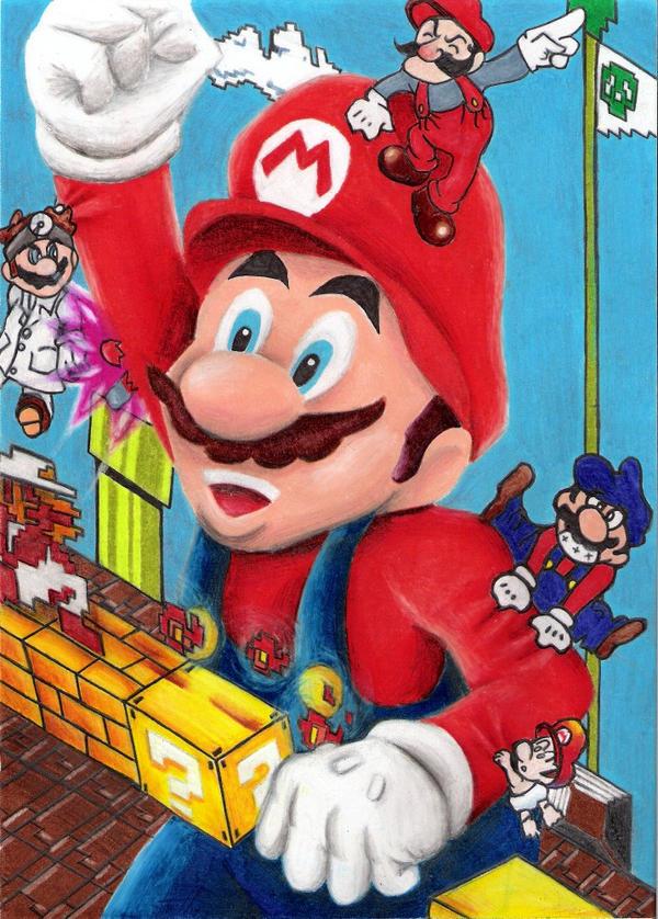New Super Mario Bros by TheFalseLegend