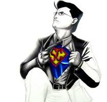 Super Stephen Colbert by TheFalseLegend