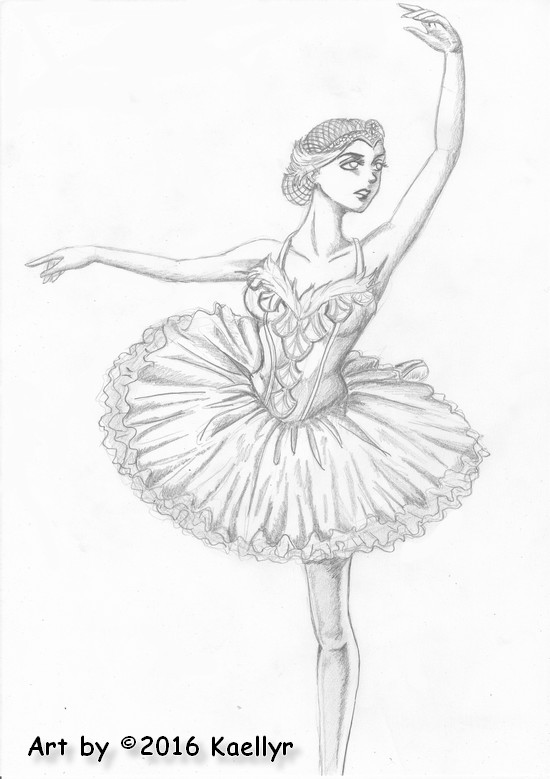 Dessin danseuse ballet by kaellyr on deviantart - Danseuse dessin ...