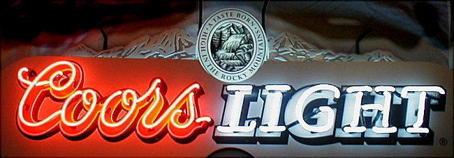 Neon coors light beer sign by traetonstock on deviantart neon coors light beer sign by traetonstock aloadofball Images