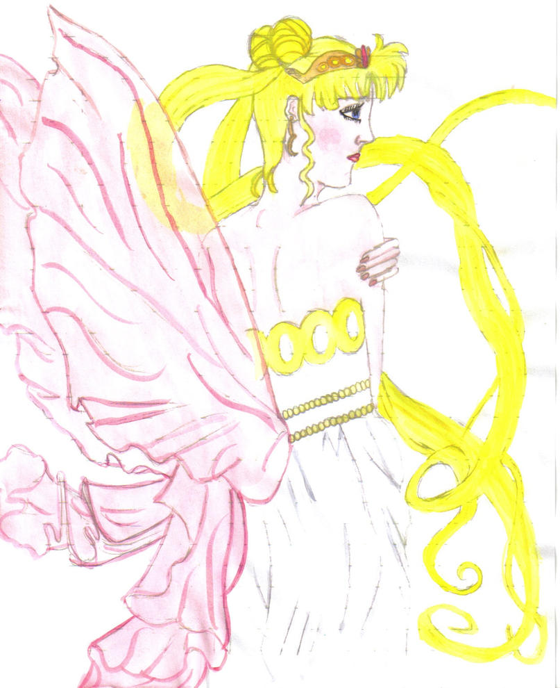 Neo-Queen Serenity Paint By Sailor-Aurora On DeviantART