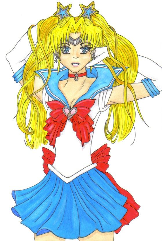 First Senshi Sailor Moon by Sailor-Aurora