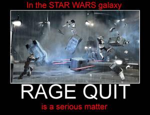 Star Wars: When Raging