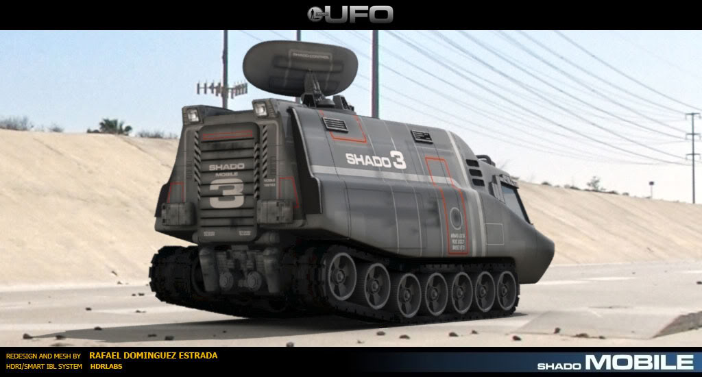 3D model from Tv show UFO by RAF-MX on DeviantArt